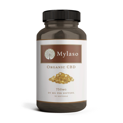 Mylaso CBD Softgels 750mg